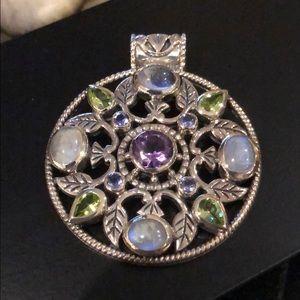 Jewelry - Artisan Crafted multi-gemstone Pendant